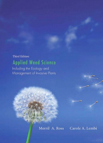 Download Applied Weed Science: Including the Ecology and Management of Invasive Plants 0135028140