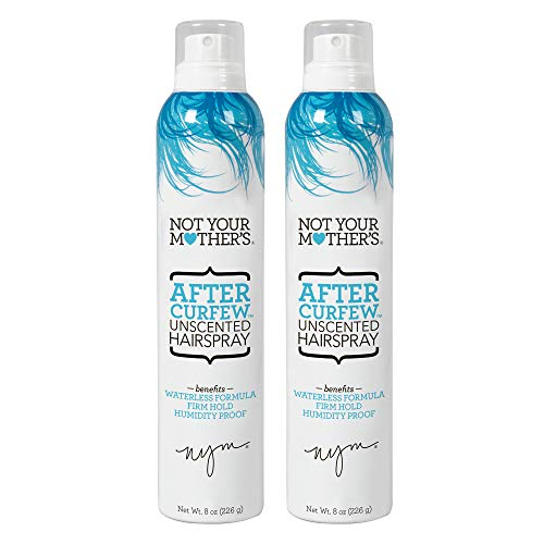 Not Your Mother's After Curfew Shaping Hairspray - Unscented, 8 Ounces, 2 Count (13438)
