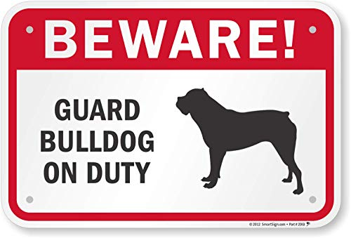 beware of bulldog - 5