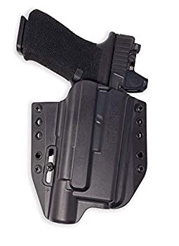 Holster for Glock 19 / 17 with Surefire X300 UA-UB - OWB Holster for Concealed Carry / Custom fit to Your Gun - Bravo Concealment