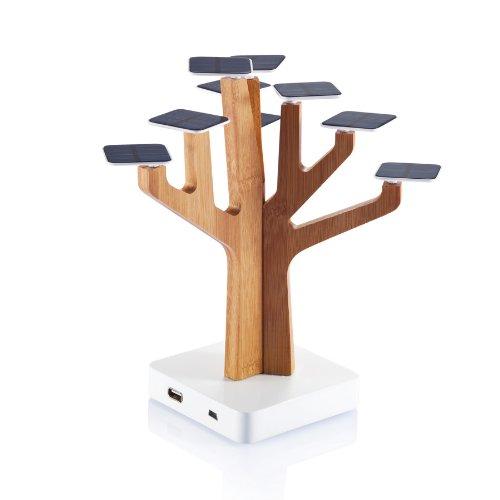 XD Design XDP280132 - Cargador solar (diseño en forma de árbol)