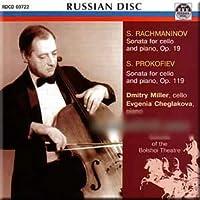 Rachmaninov, Prokofiev - Dmitry Miler, Evgenia Cheglakova