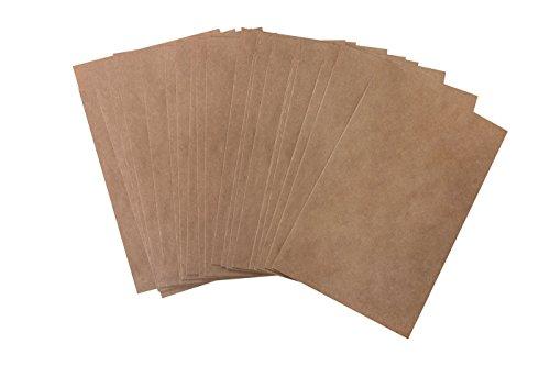 100 Papiertüten klein BRAUN natur Kraftpapier-Tüten 11,5 x 16 + 2 cm Lasche Papier-Flachbeutel Verpackung Geschenke Papier-Flachbeutel Papier-beutel Umschlag Kuvert give-away Weihnachten