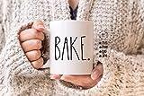 Bake Bake Taza Café Taza de café Taza de Hornear Taza Rae Dunn Taza Ficheros JPG PNG DXF Silueta...