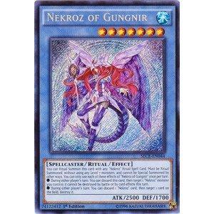 YU-GI-OH! - Nekroz of Gungnir (SECE-EN044) - Secrets of Eternity - 1st Edition - Secret Rare