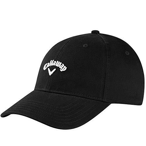 Callaway Golf 2020 Heritage Twill Adjustable Hat Black