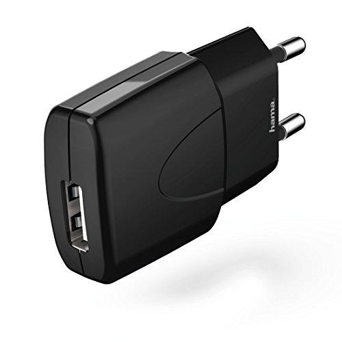 Hama Picco Innenraum Schwarz - Handy-Ladegeräte (Innenraum, Universal, Sektor, Überlast, Kurzschluß, Kontakt, Schwarz)
