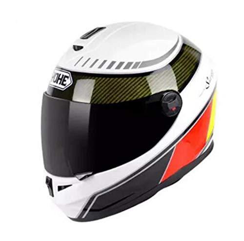 Adult Unisex Full Face MotorcycleHelmet Outdoor Anti Collision Cycling Helmet...