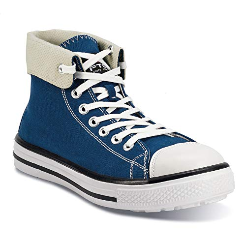FTG Sneaker Music Blues High Sicherheitsschuh S1P SRC, Größe 43