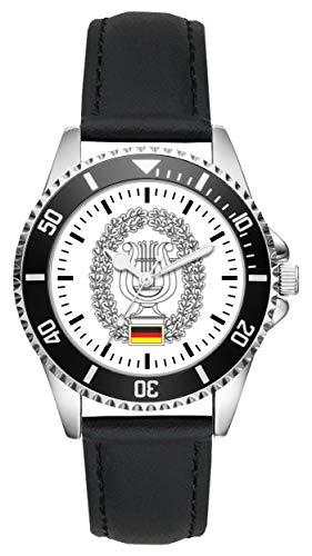 Soldat Geschenk Bundeswehr Artikel Musikdienst Uhr L-1216