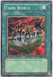 YU-GI-OH! - Toon World (MRL-076) - Magic Ruler - 1st Edition - Super Rare by