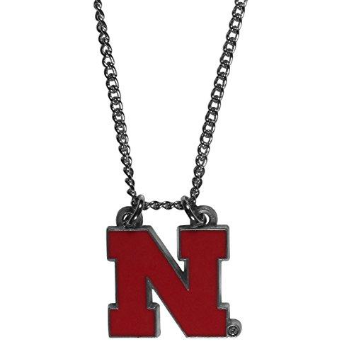NCAA Siskiyou Sports Fan Shop Nebraska Cornhuskers Chain Necklace 22 inch Team Color