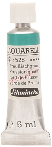 Schmincke 14528001 Horadam Watercolor 5 ml Prussian Green