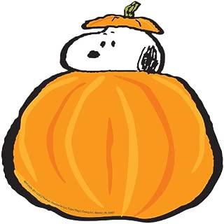 Eureka Back to School Peanuts Snoopy Fall Pumpkin Paper Cut Out Classroom Decorations for Teachers, 36 pc, 5.5'' W x 5.5'' H