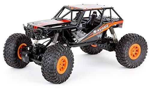 MABAMAHO Super Four Wheel Crawler Savage M1:10, 2.4GHz Fernbedienung, RTR, bis zu 18 km/h schnell