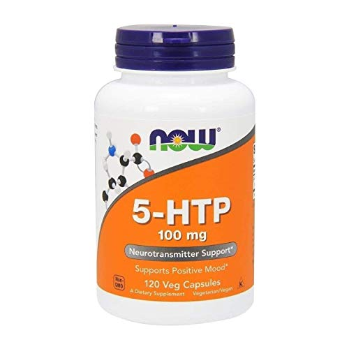 NOW FOODS 5-HTP 100 mg 120 Vcapsule - VITAMINE