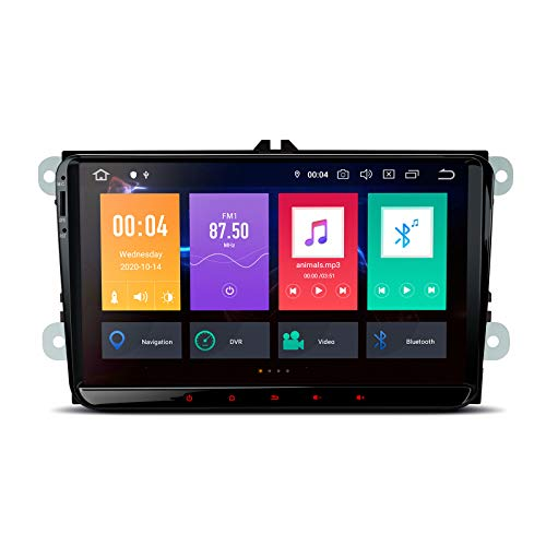 """XTRONS Android 10 Car Stereo 9""""Touch Screen Car Radio Player Bluetooth..."""