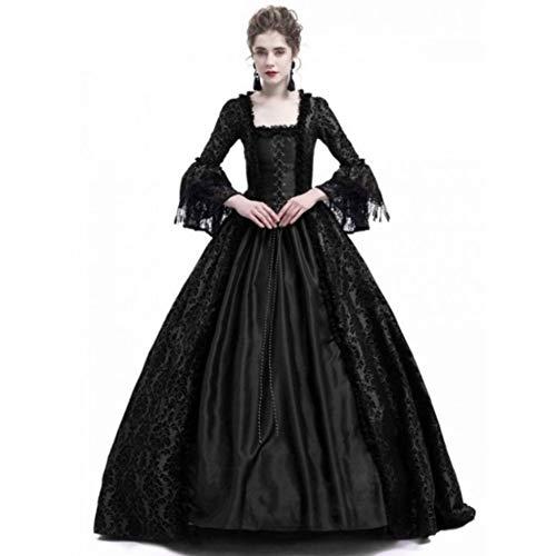 GBYAY Medieval Palace Princess Dress Adultos Vestido de Noche para Mujer 2019...