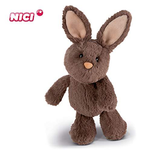 NICI Kuscheltier Hase 20 cm – Plüschtier Hase für Mädchen, Jungen & Babys – Flauschiger Stofftier-Hase zum Kuscheln, Spielen und Schlafen – Gemütliches Schmusetier für jedes Alter – Plüschhase – 45225