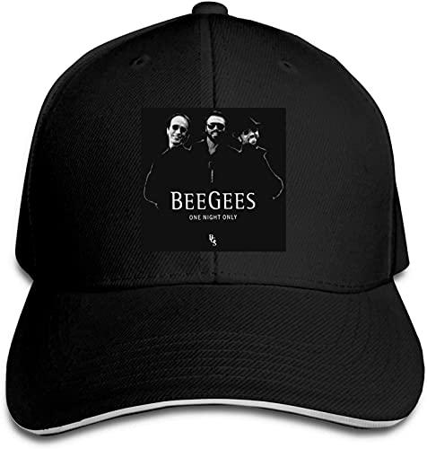 Bee Gees Band One Night Only Logo Sombrero de béisbol para adultos para hombres y mujeres
