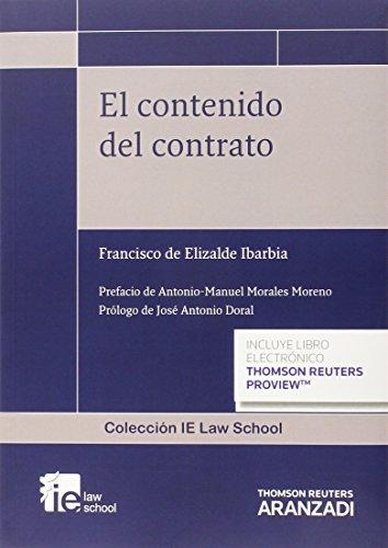 El contenido del contrato (Monografía)