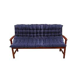 Coussin de chaise de décoration de bureau à domici 1mx1.5m extérieur Coussins de banc for Recliner Rocking Chair rotin…