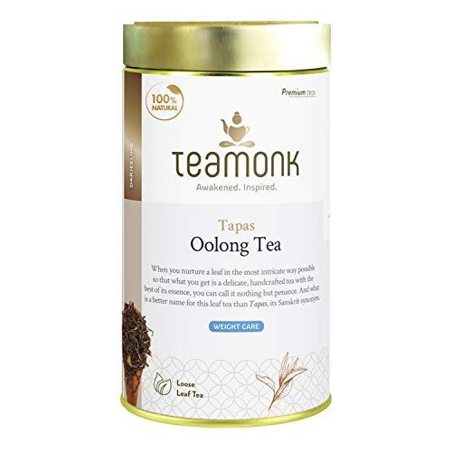 Teamonk Tapas Imperial Himalayan Oolong Tea Loose Leaf (75 Cups) | 100%...
