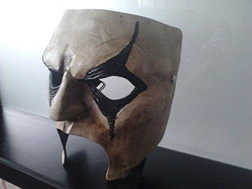 WRESTLING MASKS UK Jim Racine Deluxe Fibre de Verre Slipknot Style Masque