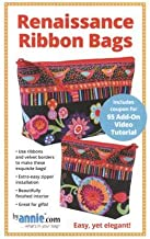 by Annie Pattern - Renaissance Ribbons Bags (Includes Instructions for Two Finished Project Sizes)