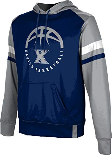 ProSphere Xavier University Basketball Men's Pullover Hoodie, School Spirit Sweatshirt (Old School) 412F82FB