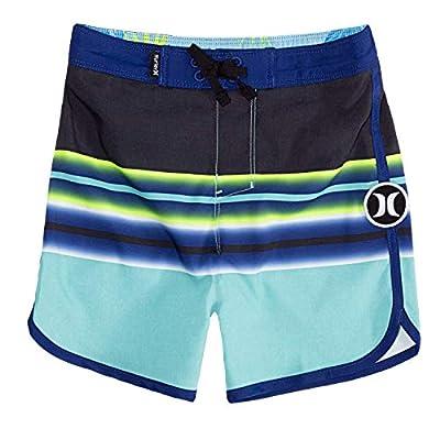 Hurley Boys' Little Stretch Board Shorts, Tropical Twist, 4
