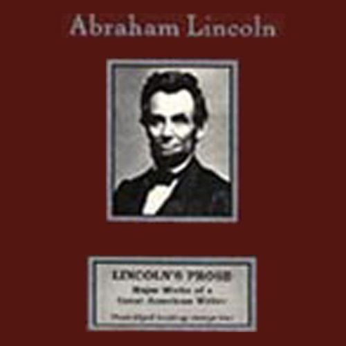 Lincoln's Prose audiobook cover art