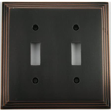 3D Wall Switch Plate in Copper TUTORIAL for Leafy Brass and Bronze