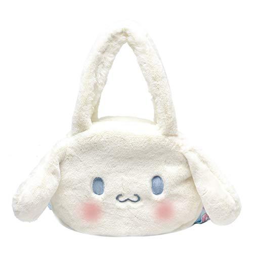 Cinnamoroll Dog Bolsa de Peluche Femenino Japonés Lolita Lolita Linda Chica portátil JK Pequeño Satchel (Size : Tote Bag)