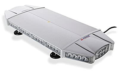 Falcon Flight Emergency 3 watt Low Profile Magnetic Roof Mount Min LED Light Bar 27 in (Amber/White)