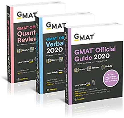 GMAT Official Guide 2020 Bundle: Gmat Official Guide / Quantitative Review / Verbal Review