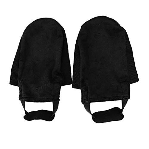 Toygogo 1 Paar Sports Bowling Shoe Slider Rutschabdeckung Sockenschutz Ersatzzubehör Waschbar, Wiederverwendbar, rutschfest