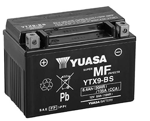 Yuasa Batteria di ricambio YTX9-BS 12V