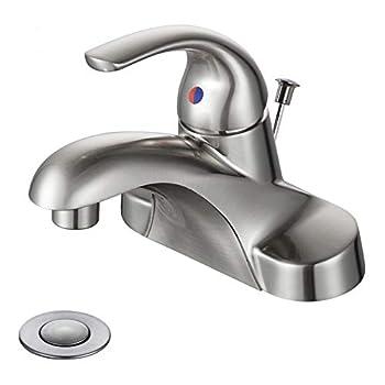 bathroom faucets single handle