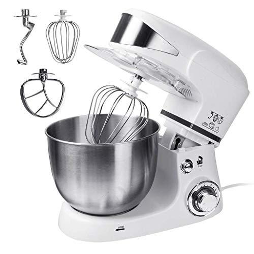 DWLXSH Standmixer, 6-Gang-Hand-Mixer, Rührbesen/Knethaken 3 in1 elektrische Küche Kochmaschine 5L - Haushalt Gewerbe