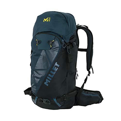 MILLET - Neo 35+ - Zaino per uomo e donna - Sci alpino - Volume estensibile 35 + 5 L - Blu