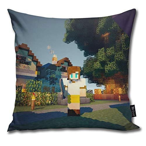 Pants Hats Mi-Necraft 25 Pattern Pillow-Home Decor Pillow Cover Bedroom Decorative Cushion Case For Living Sofas Square Pillow