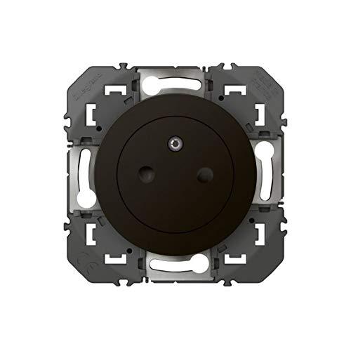 Legrand LEG95275 Surf Compo Dooxie 2P + T, oppervlak 16 A, zwart