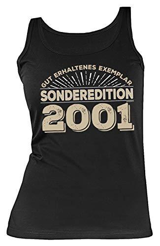 Geschenk für 19-jährige Mädchen Fashion Top Gut erhaltenes Exemplar Sonderedition 2001 zum 19. Geburtstag Geschenk zum 19 Geburtstag TankTop