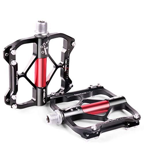 XuZeLii Durable bicycle pedals, mountain bike pedals, road bike, suitable for mountain biking, colour: black, size: 8.5 x 10 x 2 cm