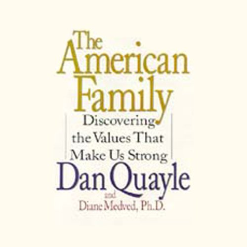 The American Family audiobook cover art