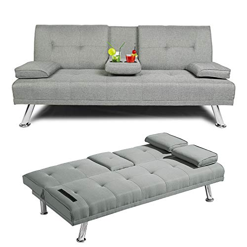 Baysitone Futon Sofa Bed Twin Size Sleeper