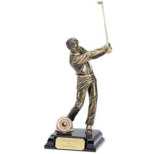 Glenway A045 Golf-Pokal, männlich, 21,5 cm, mit Gravur bis zu 50 Buchstaben