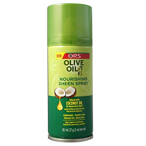Ors Olive Oil Sheen Nourishing Spray 2 Ounce (82ml) (2 Pack)