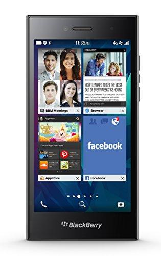 Blackberry LEAP STR100-2 5-inch 2 GB RAM, Qualcomm MSM 8960 Unlocked Smartphone (PRD-60774-008)